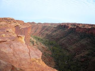 King's Canyon, au centre de l'Australie