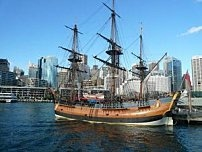 L'Endeavour, voilier du captain Cook